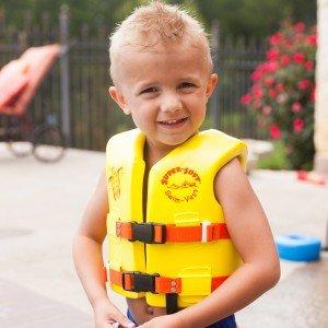 Uscg Roved Child S Vinyl Coated Foam Swim Vest Small